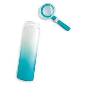 SQUEEZE – Vidro borossilicato. Com tampa em PP. Capacidade: 470 ml.