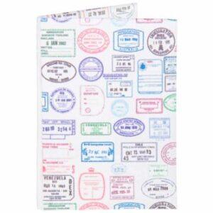 PASSAPORTE DE PAPEL – Porta passaporte feito à mão, com um material inovador extremamente fino, resistente à água e a ra