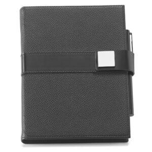 CADERNO EXECUTIVO – Caderno A5 de design moderno, minimalista e com toque business.