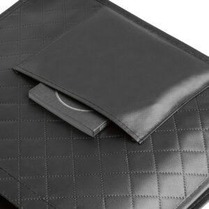 SACOLA – Non-woven laminado: 110 g/m². Bolso frontal.