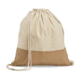 SACOLA TIPO MOCHILA – acola tipo mochila. 100% algodão: 160 g/m²