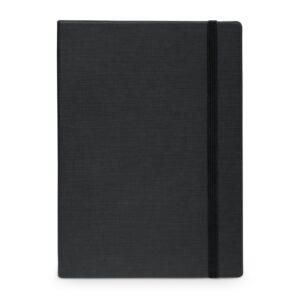 CADERNO CAPA DURA –  Caderno capa dura em cartão e em PU térmico.