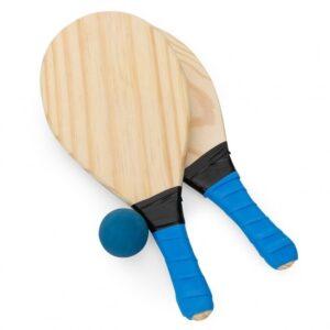 KIT FRESCOBOL – Duas raquetes e bolinha emborrachada.