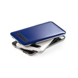 BATERIA PORTÁTIL – Bateria portátil com ecrã touch e indicador de carga.