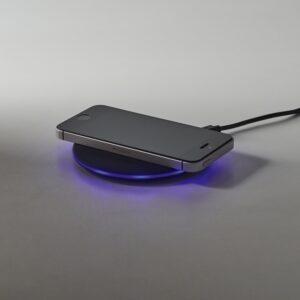 CARREGADOR WIRELESS FAST – Carregador wireless fast. ABS com acabamento emborrachado. Input: 5V/2A e 9V/1,67A