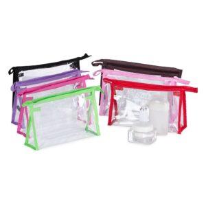 Necessaire Plástica transparente