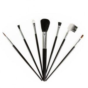 Kit com 7 pincéis para maquiagem personalizado