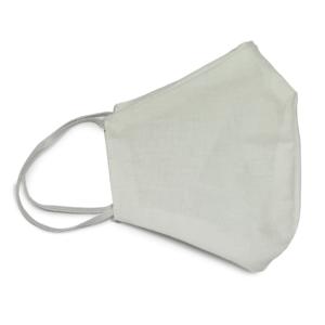 Máscara de algodão personalizada em bordado