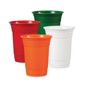 Copo plástico reutilizável personalizado