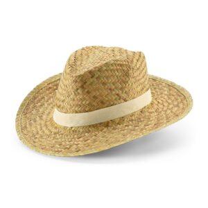 Chapéu Panamá personalizado na fita.