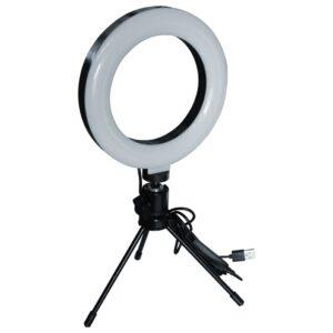 Ring Light 6″ com Tripé