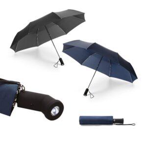 Guarda chuva com lanterna
