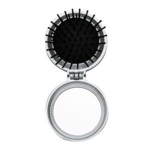 Escova de cabelo com espelho